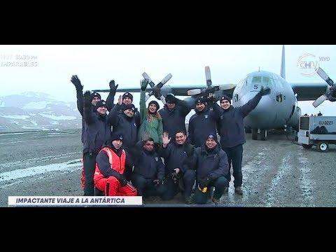 Carola de Moras y su travesía en la Antártica chilena LA MAÑANA