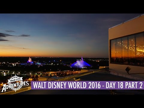 Walt Disney World 2016 | Day 18 Part 2 | Dinner at California Grill, The Contemporary and Wishes