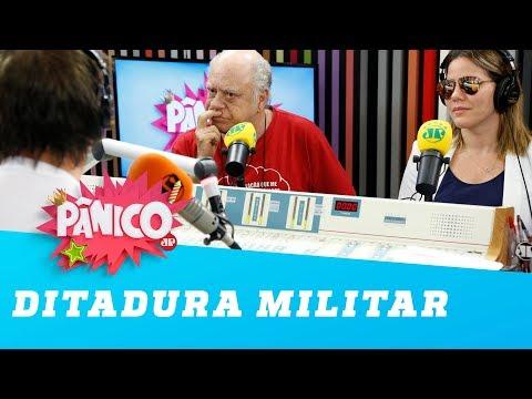 Triste! Tonico Pereira lembra época da Ditadura Militar