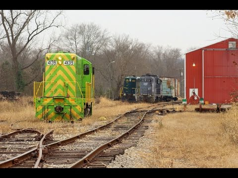 Shortline Railroading at it's Finest: Ohio South Central Railroad