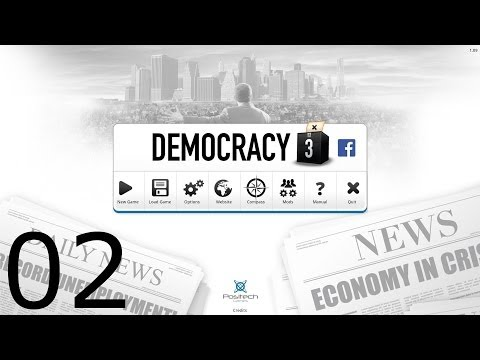 Democracy 3 - Part 2 - Welfare, Gang Violence, and Alternative Energy!