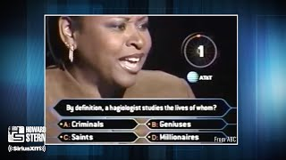 "Robin Quivers Competes on ""Who Wants to Be a Millionaire?"" (2001)"