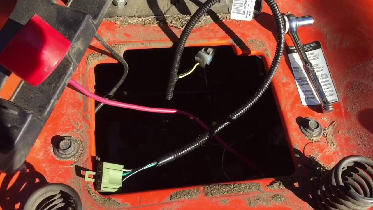 Husqvarna riding mower wiring harness  YouTube