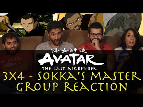 Avatar: The Last Airbender - 3x4 Sokka's Master - Group Reac
