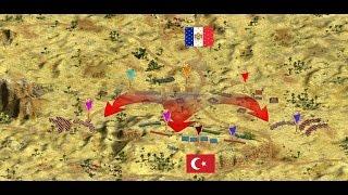 Cossacks 2 Battle for Europe: online battle of Pyramids. L.L (Egypt) vs Legius (France) Defeat
