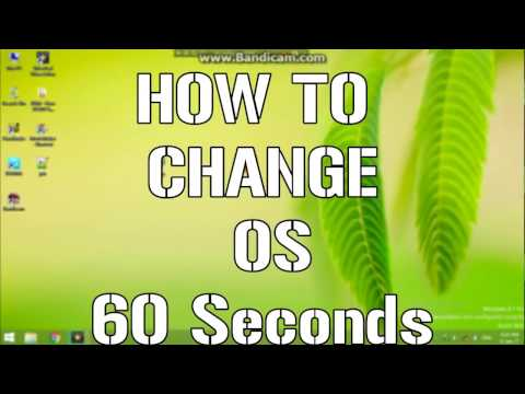 How To Change Os Windows 8 1 Or 8 To Windows 7   With In 60 Seconds 3