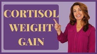 Cortisol Weight Gain | 3 Steps to Lose Cortisol Induced Body Fat
