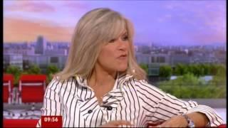 Samantha Fox on BBC 1TV Breakfast Time August 2012