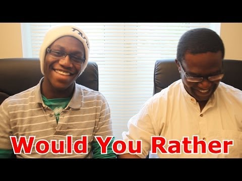 Thumbnail: Would You Rather With My Dad