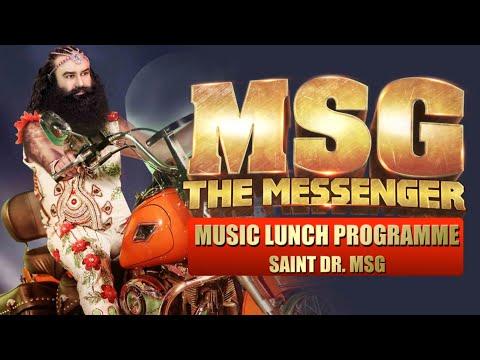 MSG- MESSENGER OF GOD, MUSIC LAUNCH PROGRAMME