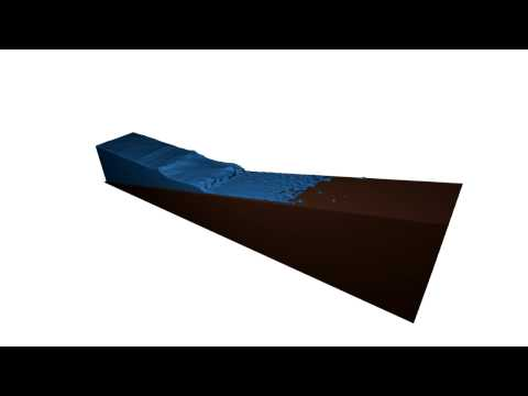 Blender Fluid Wave