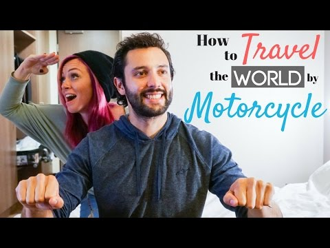 Driving a Motorcycle Around the World w/ Alex Chacon