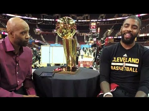Vince Carter Interviews Kyrie Irving about the NBA Finals, His Passion for Musicals, & MORE