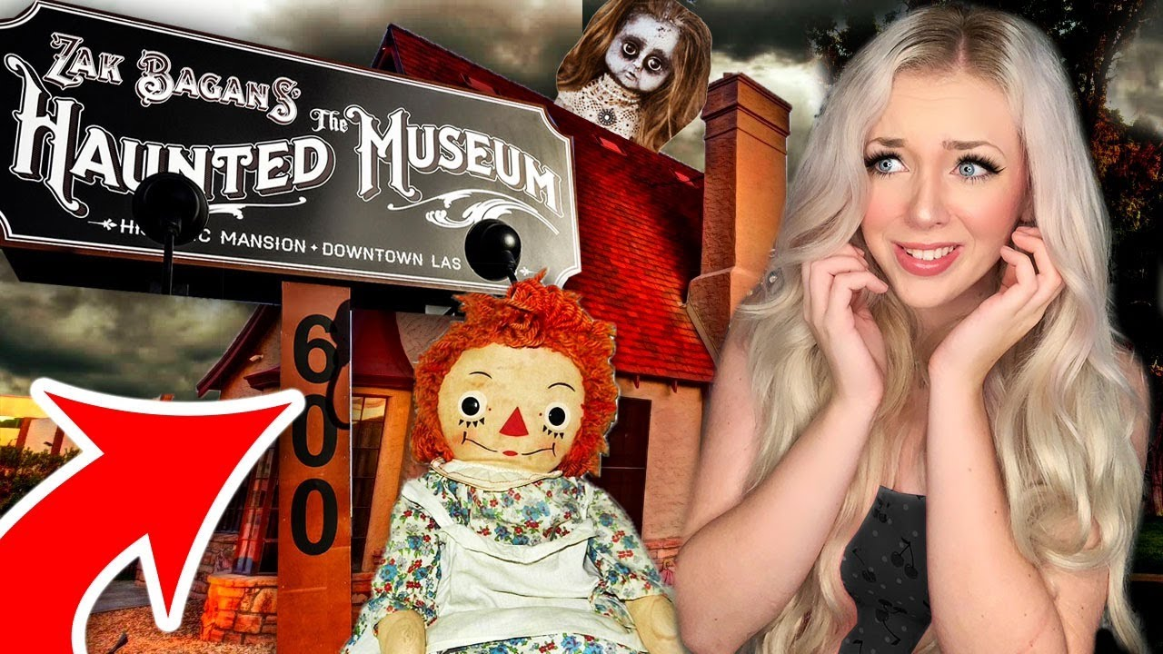 I Went to the MOST HAUNTED Museum in the WORLD... (*Scary*)