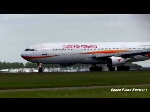 Suriname Airways A340 Department  Schiphol Amsterdam