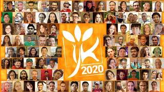 Momentoj de IJK 2020 en la reto!