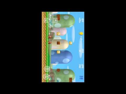 Gameplay de super mario bros 3d en android