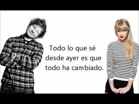 Taylor Swift Ft. Ed Sheran Everythng Has...