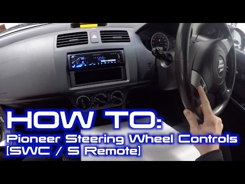 How to Wire Up Pioneer Built in Steering Wheel Controls Interface | [S Remote/SWC]