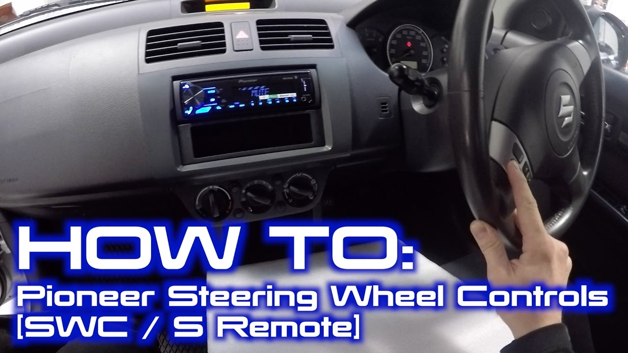 how to wire up pioneer built in steering wheel controls interface rh youtube com Pioneer 16 Pin Wiring Diagram Car Stereo Color Wiring Diagram