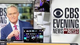 CBS covers up the fact they fired Scott Pelley