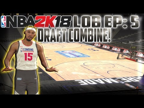"""The NBA 2K18 Truly """"Life Of A Baller"""" Story Ep. 5 - The Draft Combine! - Career Ending Injury?! -"""