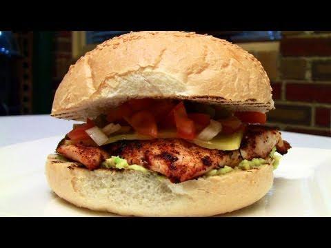 simple-spicy-chicken-burger-bbq-recipe