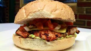 Simple Spicy Chicken Burger BBQ Recipe