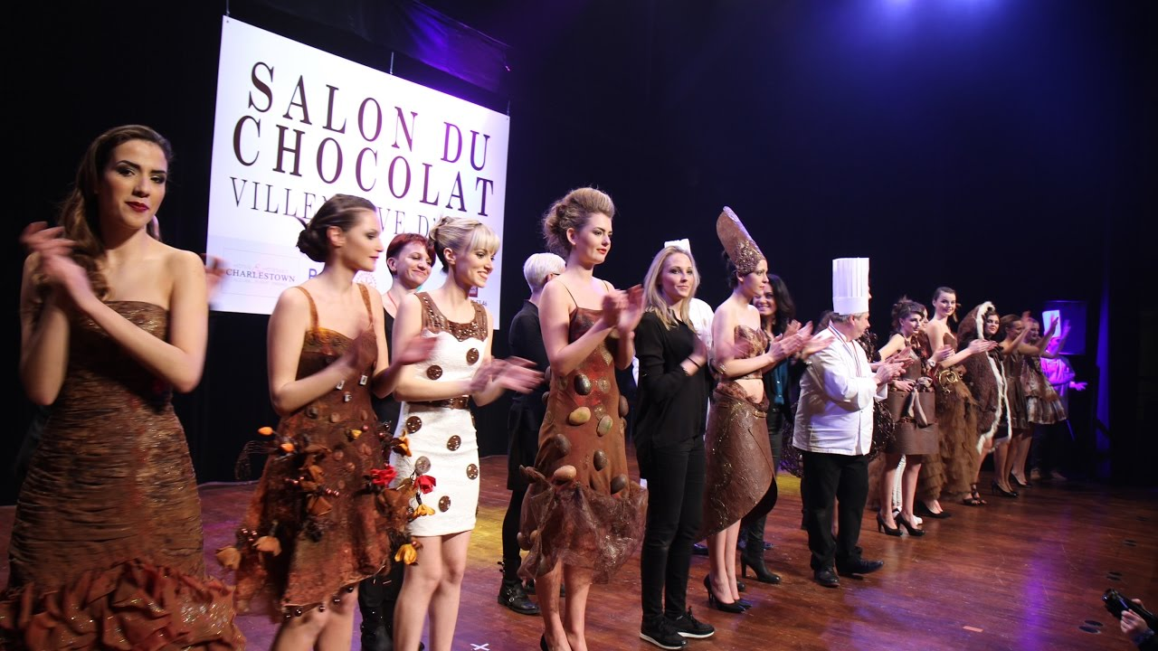 D fil de robes croquer salon du chocolat les 3 4 et 5 for Salon du chiot reze 2017
