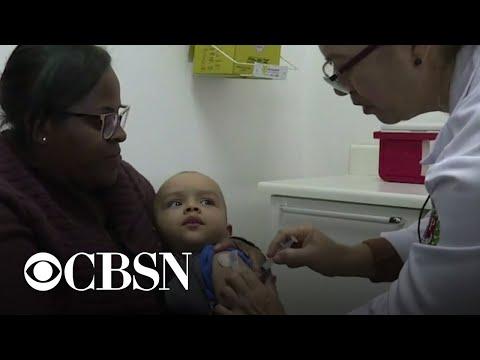 Childhood immunizations down as coronavirus pandemic sweeps globe