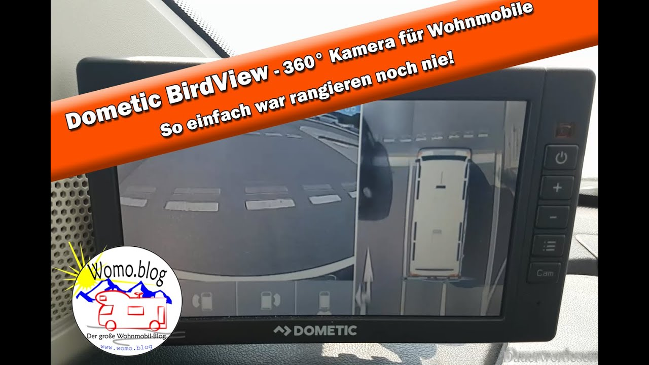 dometic birdview die wohnmobil 360 kamera youtube. Black Bedroom Furniture Sets. Home Design Ideas