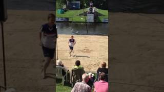 Top sprong van Wisse Broekstra in It Heidenskip