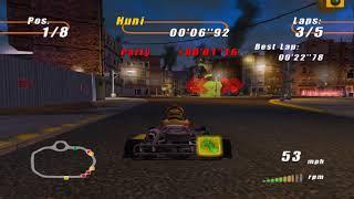 Emulação - Furious Karting in-game no CxBx-Reloaded (XBox)