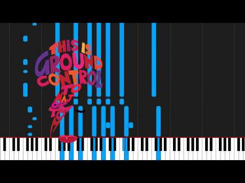 How To Play Space Oddity By David Bowie On Piano Sheet Music Youtube