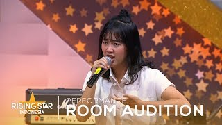 Sasya Sava Halo Room Audition 5 Rising Star Indonesia 2018