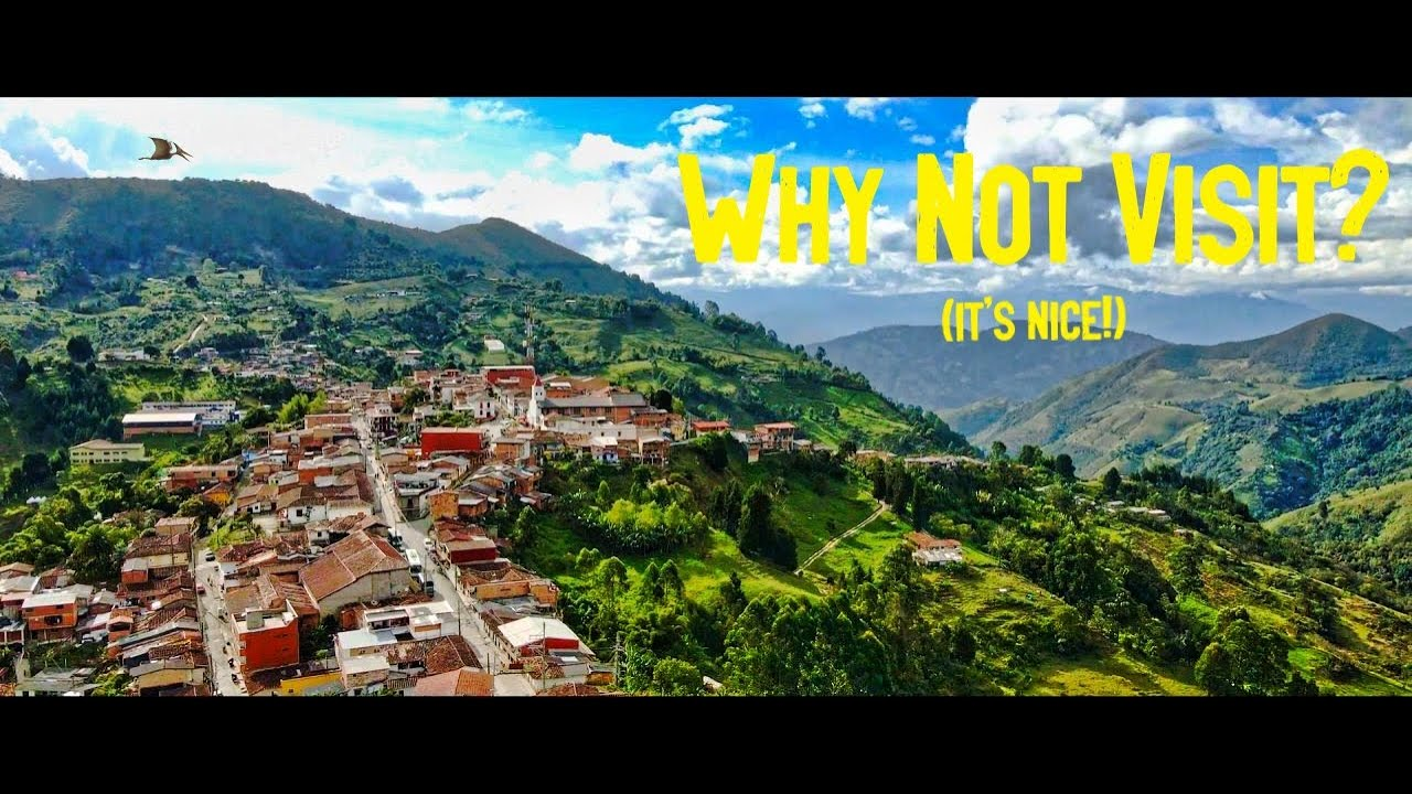 Download Hidden Towns in Colombia: Angelopolis close to Medellin (Drone Footage)
