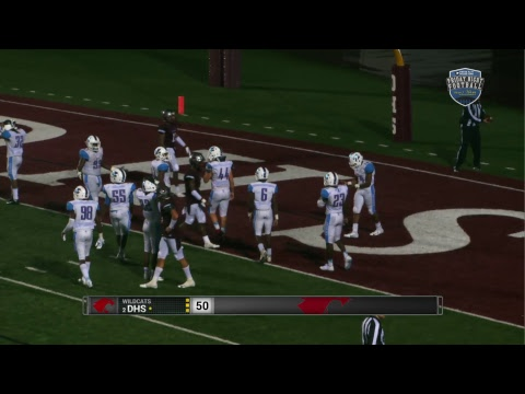 ZHS vs. DHS - LHSAA 5A Football Playoff Semifinal (2018)