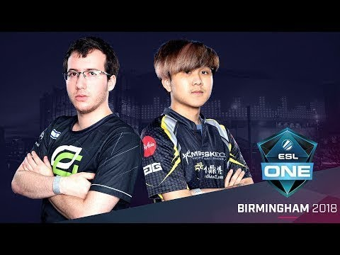 Dota 2 - OpTic Gaming vs. Mineski - Partido 3 - Group C Winners' Match - ESL One Birmingham 2018