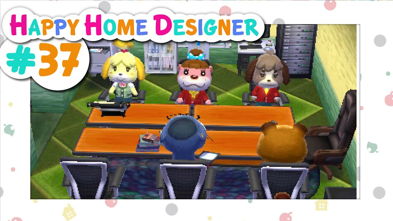 Animal Crossing: Happy Home Designer :: # 37 - Official ...