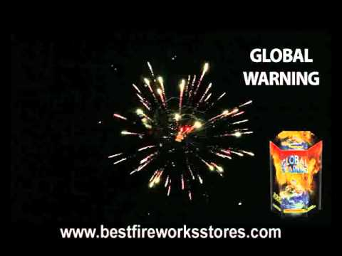 "Global Warming - Fireworks Cake - 200 Gram - ""Buy Fireworks"""