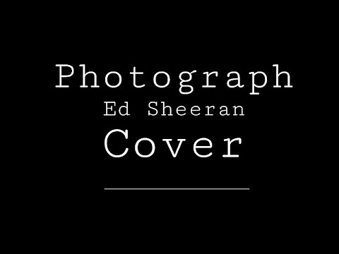 Photograph - Ed Sheeran (Smule Cover)