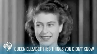 Gambar cover Queen Elizabeth II: 8 Amazing Things You Didn't Know | British Pathé