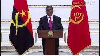 Mensagem de Ano Novo aos angolanos do Presidente da República João Lourenço
