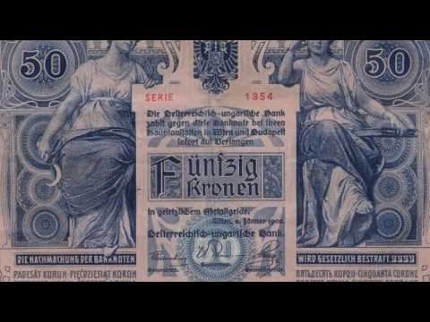 BANKNOTES AUSTRO HUNGARIAN EMPIRE 1900-1902 ISSUE