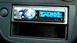 видео PIONEER DEH-P75BT
