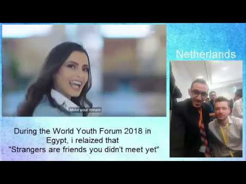My attendance to World Youth Forum 2018