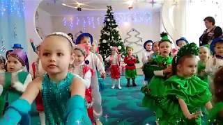 К нам пришел дед мороз. Новый год 2018 в детском саду. Зима. Подарки для детей. Новогодний утренник