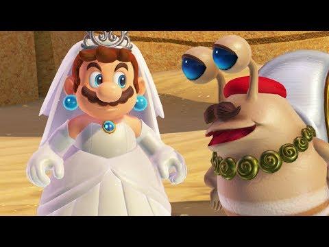 Super Mario Odyssey - Seaside Kingdom - Walkthrough