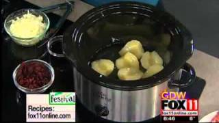 Pear Cranberry Pork Roast Slow Cooker Recipe Cooking Amy