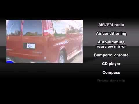 Used 2003 Chevrolet Express - StockID: 6-77893A - Hank Graff Davison, Flint Chevy Dealer